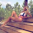 Alexandra Rosenfeld en vacances au Portugal. Instagram, août 2017.