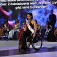 """Election de """"Miss Wheelchair World 2017"""" à Varsovie. La 1ère édition de cette compétition invite """"à changer l'image des femmes en fauteuil roulant"""". 24 jeunes femmes de 19 pays ont concouru pour décrocher le titre de Miss Monde en fauteuil roulant. La Bélarusse Alexandra Chichikova a été couronnée. Varsovie (Pologne), le 7 octobre 2017."""