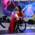 """Election de """"Miss Wheelchair World 2017"""" à Varsovie. La 1ère édition de cette compétition invite """"à changer l'image des femmes en fauteuil roulant"""". 24 jeunes femmes de 19 pays ont concouru pour décrocher le titre de Miss Monde en fauteuil roulant. La Bélarusse Alexandra Chichikova a été couronnée. Varsovie, le 7 octobre 2017."""