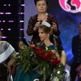"""L'élection de """"Miss Wheelchair World 2017"""" à Varsovie. La 1ère édition de cette compétition invite """"à changer l'image des femmes en fauteuil roulant"""". 24 jeunes femmes de 19 pays, ont concouru pour décrocher le titre de Miss Monde en fauteuil roulant. La Bélarusse Alexandra Chichikova a été couronnée. Varsovie, le 7 octobre 2017."""