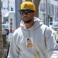Usher dans les rues de Beverly Hills, le 29 août 2017
