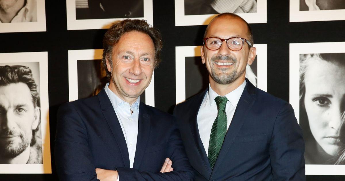 Exclusif st phane bern et son compagnon lionel bounoua vernissage de l 39 exposition - Stephane bern et son compagnon ...