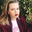 Camille Gottlieb, petite fille de Grace Kelly, pose sur Instagram le 28 septembre 2017.