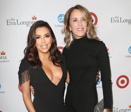 Eva Longoria et Felicity Huffman : Retrouvailles des cultes Desperate Housewives
