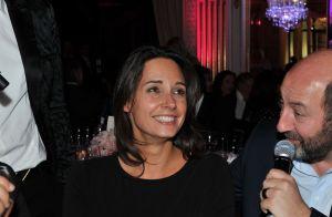 Julia Vignali et son compagnon Kad Merad :