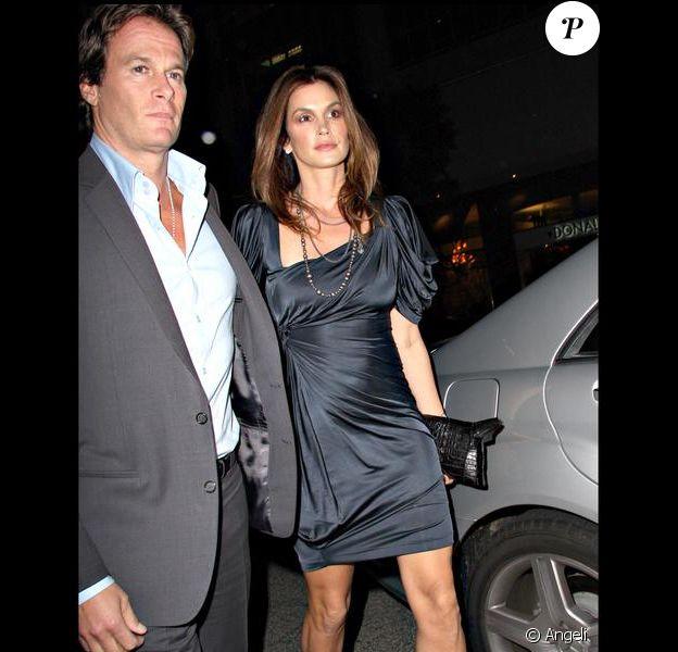 Cindy Crawford et son mari