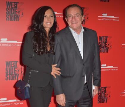 Jean-Pierre Pernaut et sa femme Nathalie Marquay assistent à West Side Story