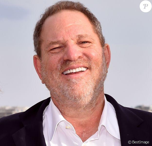 """Harvey Weinstein - Photocall de la série """"War And Peace"""" - MIPCOM à Cannes le 5 octobre 2015."""
