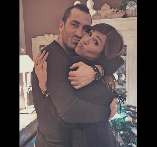 Tiffany et Justin (Mariés au premier regard), amoureux à Noël 2016.