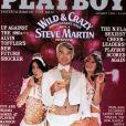 Steve Martin en couverture de Playboy, janvier 1980.