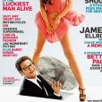 Seth Rogen en couverture de Playboy, avril 2009.