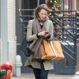 Christy Turlington à New York. Le 3 janvier 2017.