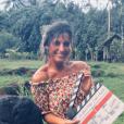 """Laëtitia Milot complice avec Philippe Bas et Amaury de Crayencour, à qui elle donne la réplique dans """"Coup de foudre à Bora Bora"""", nouveau téléfilm de TF1."""
