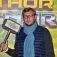 """Amaury Leveaux - Avant-première du film """"Thor Ragnarok"""" au cinéma Le Grand Rex à Paris, France, le 22 octobre 2017. © Giancarlo Gorassini/Bestimage"""