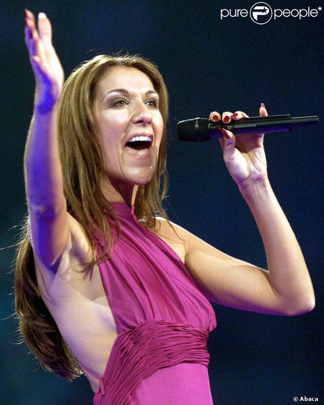 Seconde nominée, Céline Dion, pour sa très belle performance à Montréal, ...