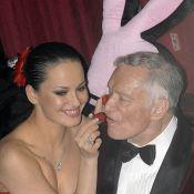 Hugh Hefner : sa bande de playmates dénudées ne lui suffit même plus, voilà une nouvelle candidate ... nue !