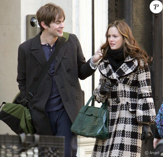 Leighton Meester et Chace Crawford