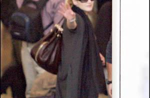 Après un ultime au revoir... Kate Winslet est repartie hier, son Oscar au chaud dans sa valise !