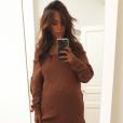 Amel Bent, enceinte de son deuxième enfant, s'affiche radieuse sur une photo publiée sur Instagram le 3 octobre 2017