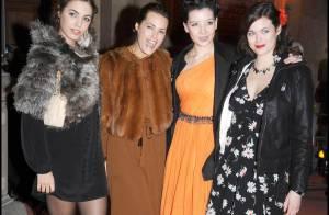 La belle Yasmin Le Bon et sa superbe fille... ont mis le feu à la Fashion Week londonienne !