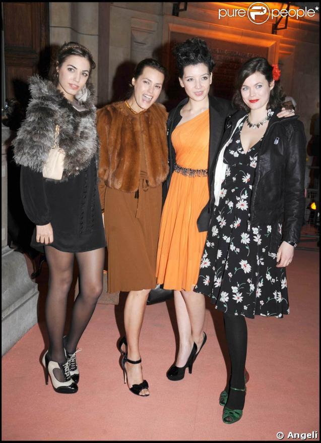 Amber Le Bon, Yasmin Le Bon, Daisy Lowe et Jasmine Guiness