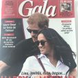 "Magazine ""Gala"", en kiosques mercredi 1er novembre 2017."