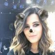 Karine Ferri dévoile sa nouvelle coupe de cheveux sur Instagram : un carré wavy.