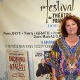Exclusif - Véronique Genest - 1re soirée du tout 1er Festival du Théâtre Français en Israël, organisé par Steve Suissa à Tel Aviv, le 22 octobre 2017. © Erez Lichtfeld/Bestimage
