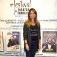Exclusif - Jennifer Lauret - 1re soirée du tout 1er Festival du Théâtre Français en Israël, organisé par Steve Suissa à Tel Aviv, le 22 octobre 2017. © Erez Lichtfeld/Bestimage