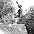 En 1986, alors âgé de 18 ans, il était très doué pour le skate.