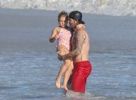 David Beckham : Sexy et bienveillant en vacances avec ses enfants