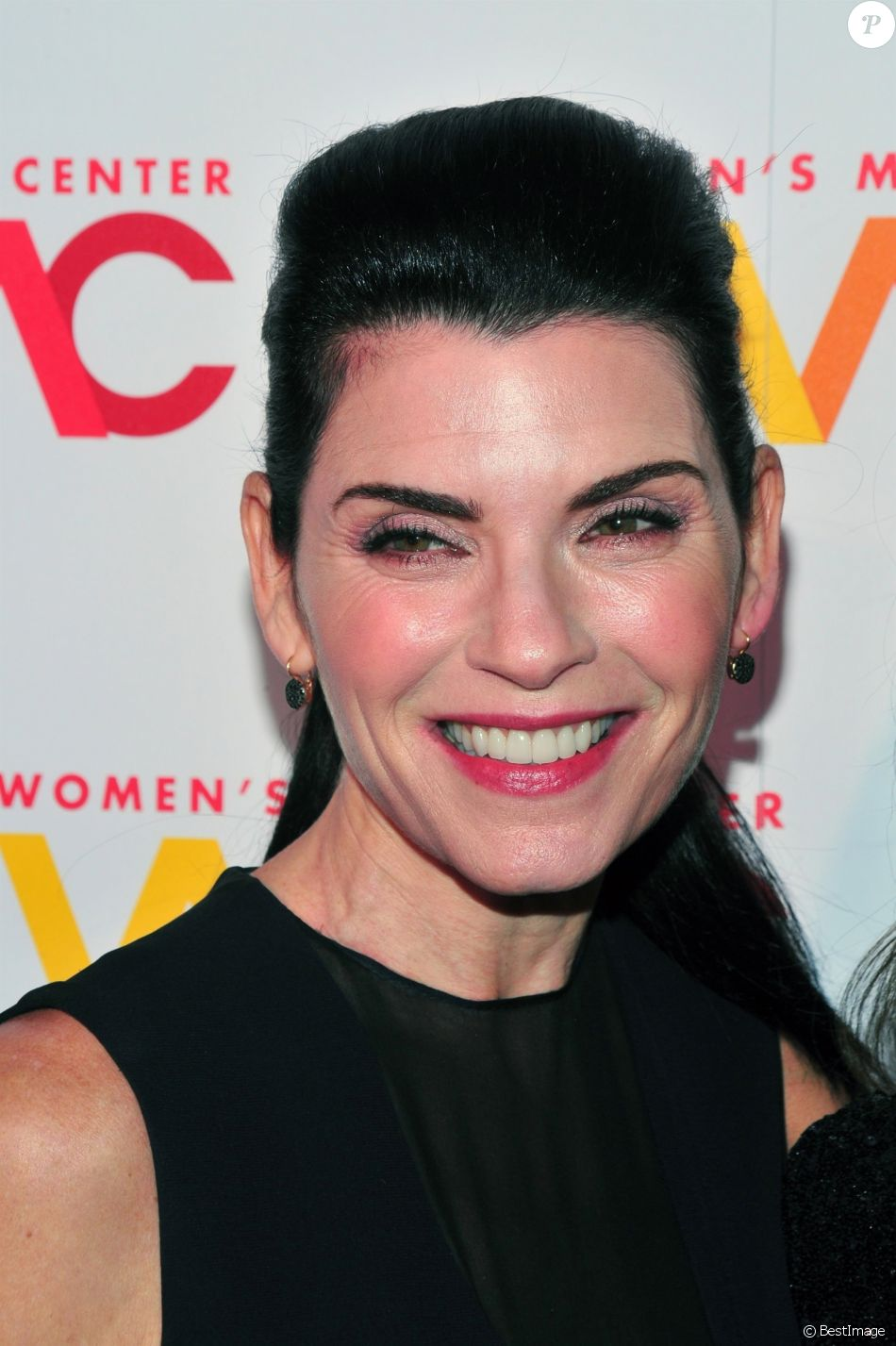 Julianna Margulies à la soirée Women's Media Center 2017 à New York, le 26 octobre 2017