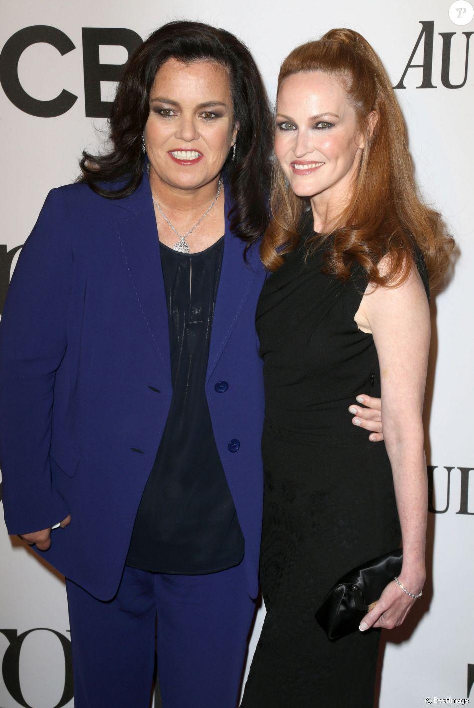 """Rosie O'Donnell et son ex-épouse Michelle Rounds - 68e cérémonie des """"Tony Awards"""" à New York, le 8 juin 2014."""