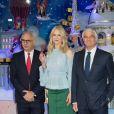 """""""Nicole Kidman inaugure les vitrines de Noël de PRINTEMPS Haussmann. Paris, le 7 novembre 2017."""""""