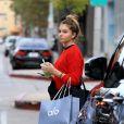 """""""Exclusif - Thylane Blondeau à West Hollywood, le 8 novembre 2017."""""""