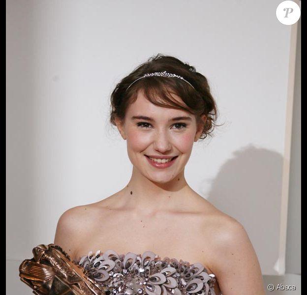 """Deborah François élue meilleur espoir féminin pour le film """"Le premier jour du reste de ta vie """""""