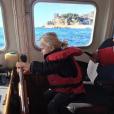 Le prince Jacques de Monaco à la barre d'un bateau de la police maritime monégasque. Quelques jours plus tard, il passait chez le coiffeur pour sa première coupe. Photo Instagram Princesse Charlene de Monaco le 10 novembre 2017.