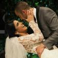 L'attaquant du PSG Lucas a épousé Larissa Saad au Brésil, le 23 décembre 2016.