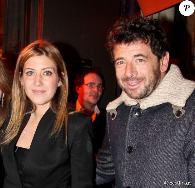 Exclusif - Amanda Sthers et Patrick Bruel - Amanda Sthers recoit la médaille des Arts et des Lettres au restaurant BBB entourée de ses plus proches amis et de sa famille à Paris le 31 janvier 2013