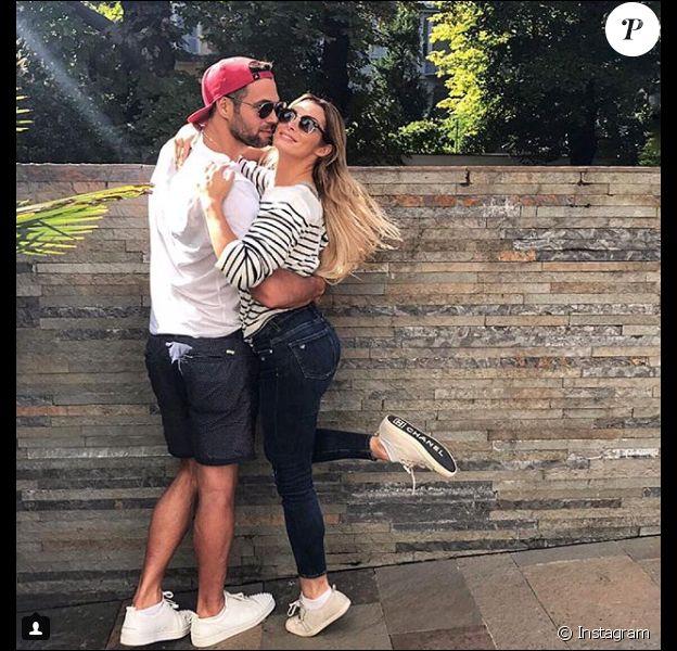 Bruno Cerella et Emilie Nef Naf, le 13 novemvre 2017 à Milan.