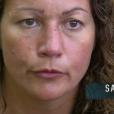 """""""Sandrine dans """"Koh-Lanta Fidji"""" (TF1), vendredi 3 novembre 2017."""""""
