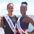 Miss Martinique 2017 et ses deux dauphines, le 27 juillet 2017.