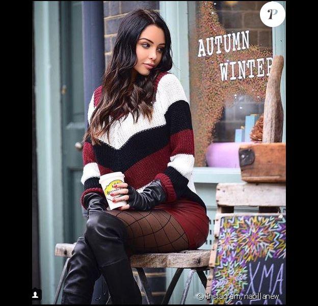 Nabilla Benattia sexy sur Instagram, 2017