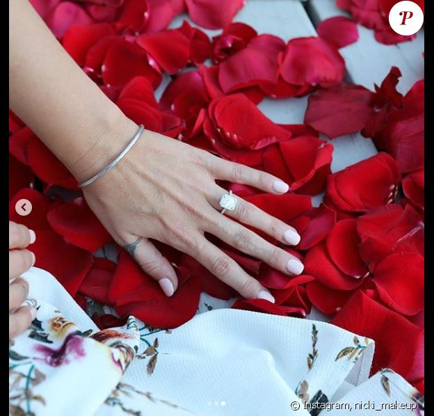 Giacomo Gianniotti a offert cette bague de fiançailles à sa chérie Nichole. Le 26 novembre 2017