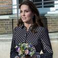 Kate Middleton visite le Musée Foundling à Londres, Royaume Uni, le 28 novembre 2017.