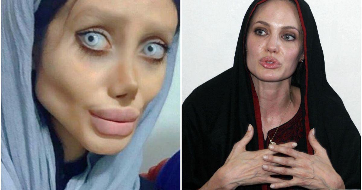 Sahar Tabar Pictures >> Angelina Jolie : Une fan subit 50 opérations de chirurgie pour lui ressembler - Purepeople