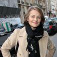 Charlotte Rampling à l'anniversaire de Michèle Morgan. 02/03/09