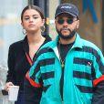 Selena Gomez et The Weeknd à New York le 3 septembre 2017.