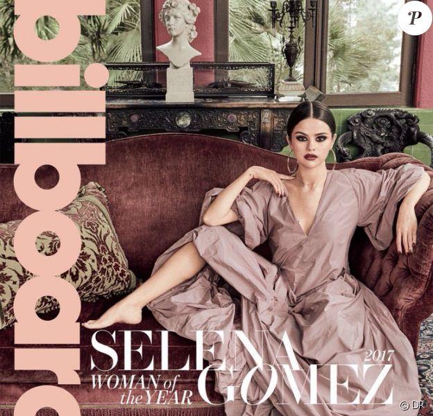 Couverture du magazine Billboard. Novembre 2017.