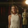 Cressida Bonas, ex-compagne du prince Harry de 2012 à 2014, dans le clip de la chanson Naked de James Arthur, décembre 2017